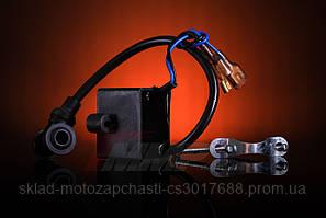 Катушка зажигания интегрированная CDI веломотор 50/60/80см3
