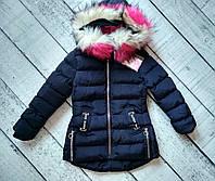 Куртка для девочки,зима, 4-12 лет Венгрия