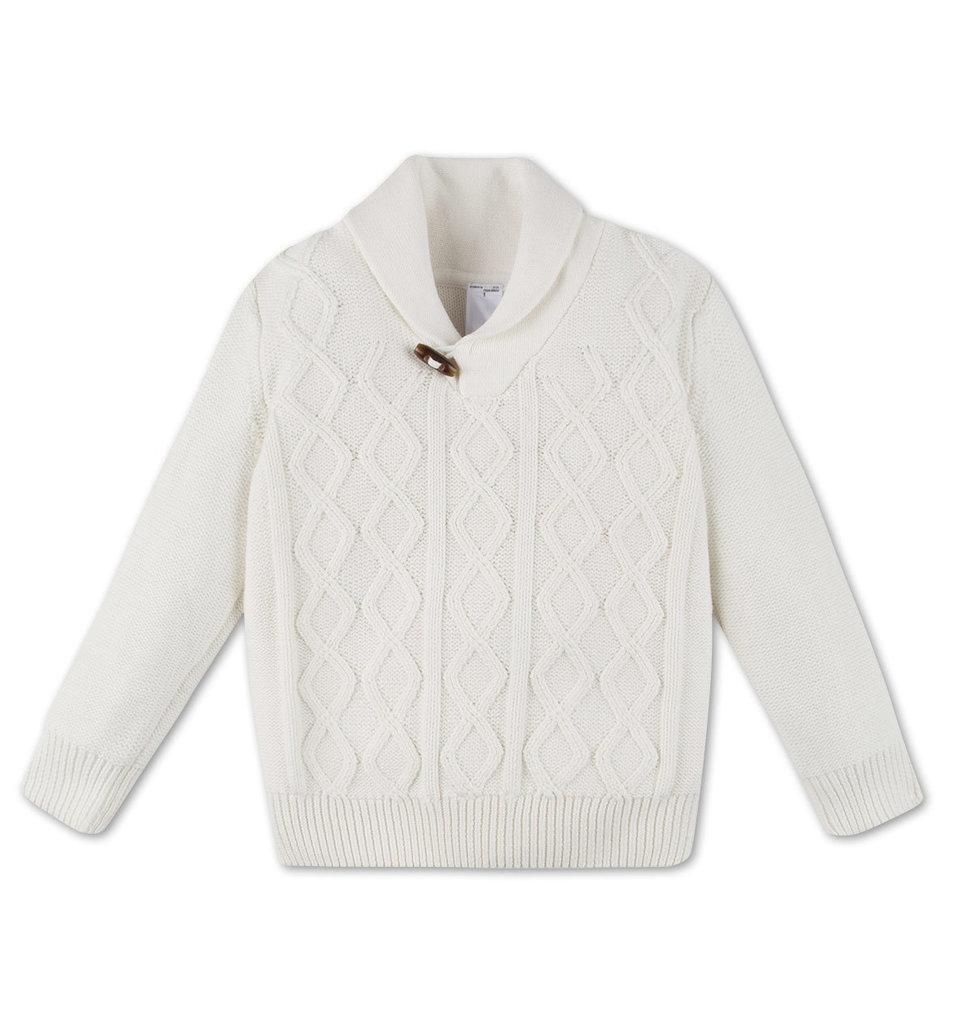 Модный белый свитер для мальчика C&A Германия Размер 116