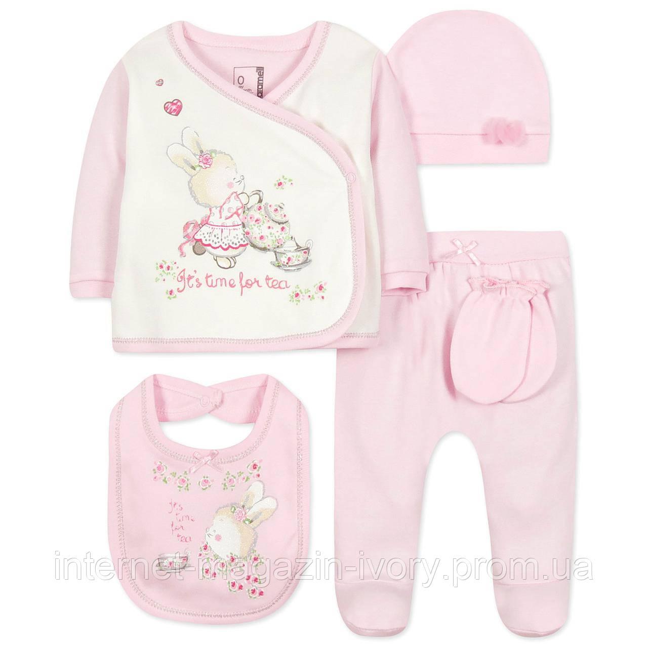 Комплект 10 в 1 для Новорожденной Девочки Caramell (50) — в ... 0e68d70811974