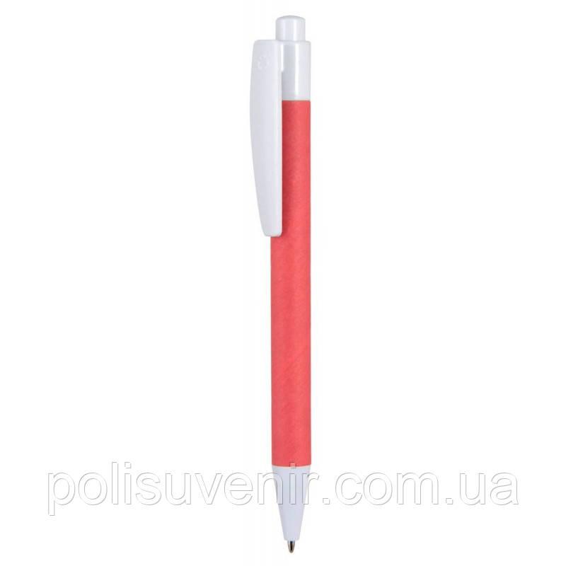 Двоколірна ручка виконана з переробленого матеріалу