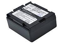 Аккумуляторная батарея CameronSino для фото/видео PANASONIC CGA-DU07, 750mAh, Dark Grey