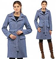 Кашемировое пальто женское осеннее демисезонное