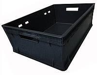 Ящик пластиковый 600х400х200  E2 черный