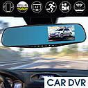 Видеорегистратор Зеркало на 2 камеры Car DVR Mirror L9000 Full HD 1080P , фото 4