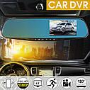 Видеорегистратор Зеркало на 2 камеры Car DVR Mirror L9000 Full HD 1080P , фото 5