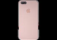 Apple Silicone Case for iPhone 5/5S/SE Pink sand / Розовый песок (силиконовый чехол для айфон), фото 1