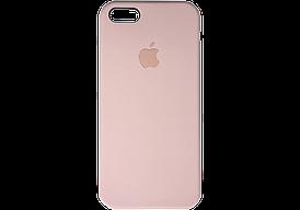 Apple Silicone Case for iPhone 5/5S/SE Pink sand / Розовый песок (силиконовый чехол для айфон)