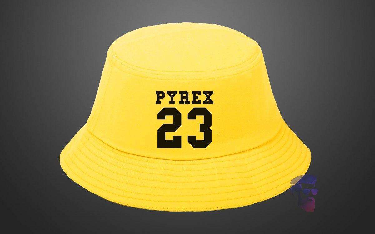 Модная жёлтая панама Pyrex 23