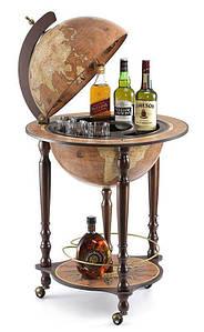 Глобус-бар напольный Zoffoli Srl, Италия «Да Винчи» Rust,h-110см, d -40см (248-0001)