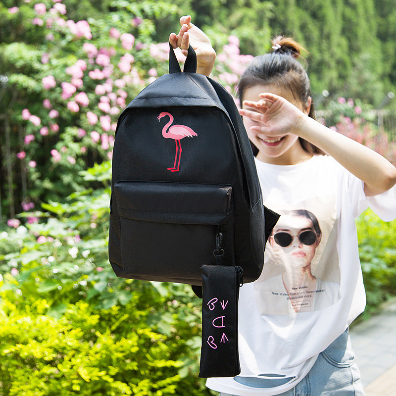 011f411c37c7 Рюкзак с принтом Фламинго: продажа, цена в Киеве. рюкзаки городские ...