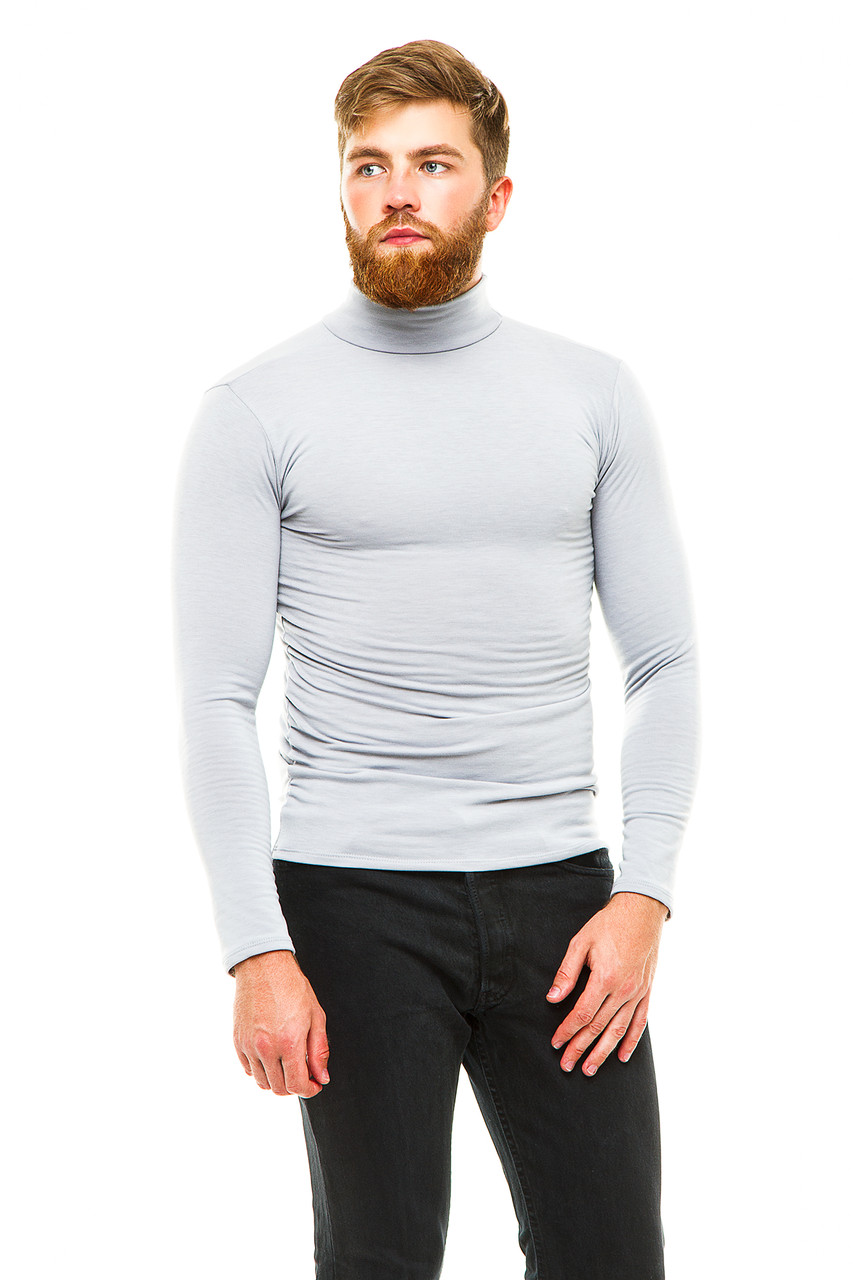 Гольф теплый 042-1 серый
