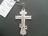 Большой Серебряный Крест Арт. Кр 87, фото 3