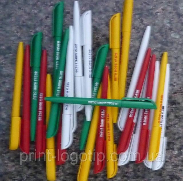 Промо ручки с логотипом, нанесение на ручки логотипа