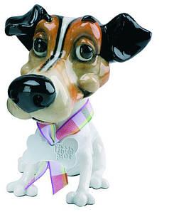 Фигурка-статуэтка собачка джек-рассел-терьер «Вилф» коллекционная из керамики Англия, h-11 см. 340-1004