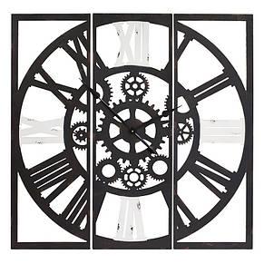 Часы настенные металлические в стиле лофт - Gothic 100, фото 2