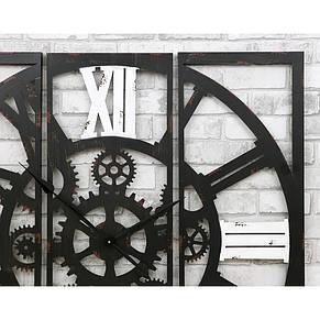 Часы настенные металлические в стиле лофт - Gothic 100, фото 3