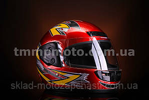 Шлем с бородой красный