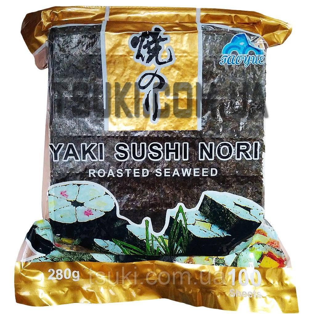 Норі yaki sushi 100 аркушів