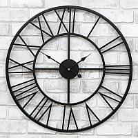 Часы настенные металлические в стиле лофт - Milano 60