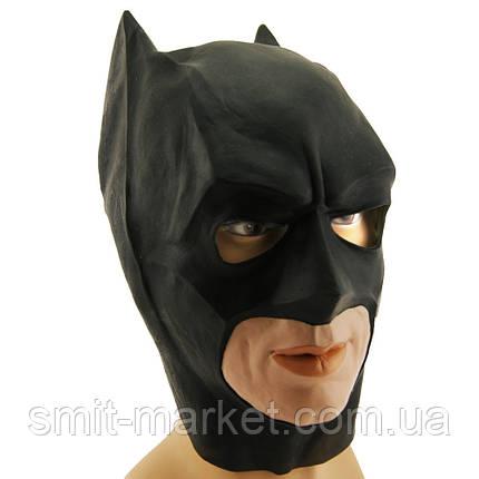 Маска резиновая Бетмен, фото 2