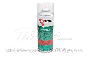Очиститель-полироль пластика и резины KERRY аэрозоль 520мл (предотвращает появление микротрещин)