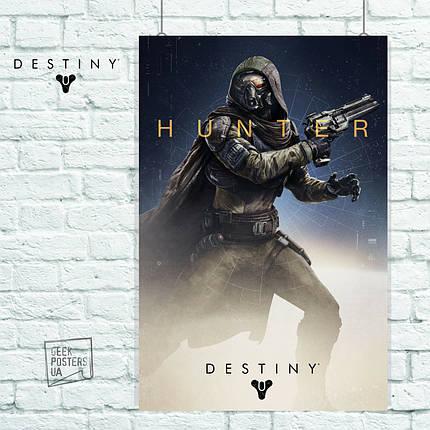 Постер Hunter. Destiny 2, Судьба 2. Размер 60x40см (A2). Глянцевая бумага, фото 2