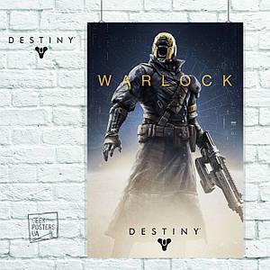 Постер Warlock. Destiny 2, Судьба 2. Размер 60x40см (A2). Глянцевая бумага