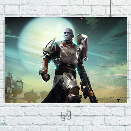 Постер Destiny 2, Судьба 2. Размер 60x42см (A2). Глянцевая бумага, фото 2