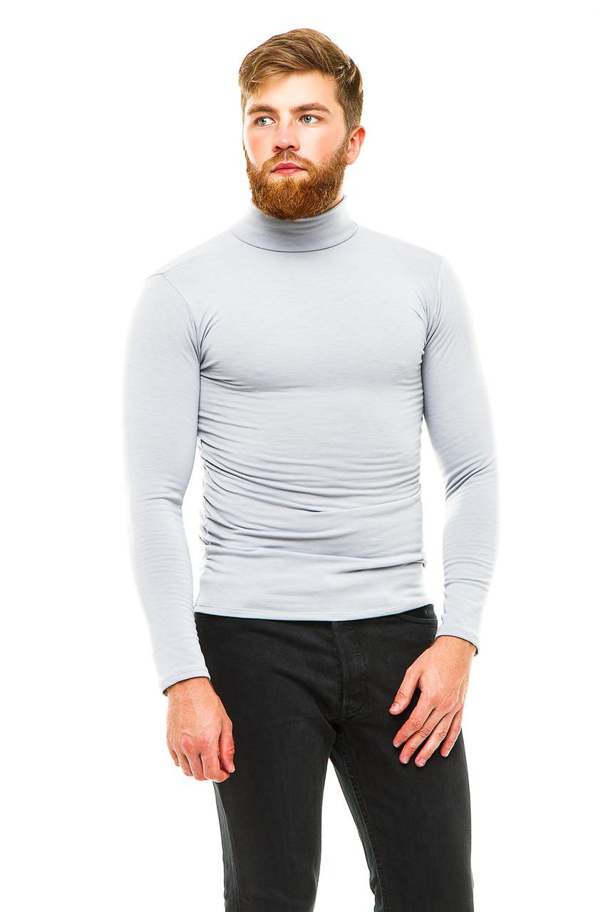 Гольф теплый  042-2 серый