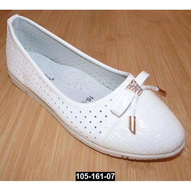 Нарядные туфли для девочки, 29 размер (19.2 см), кожаная стелька, супинатор, праздничные туфельки на выпускной