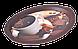 Поднос овальный с декором 47х35х3,5 см Алеана 167403, фото 2