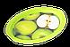 Поднос овальный с декором 47х35х3,5 см Алеана 167403, фото 3