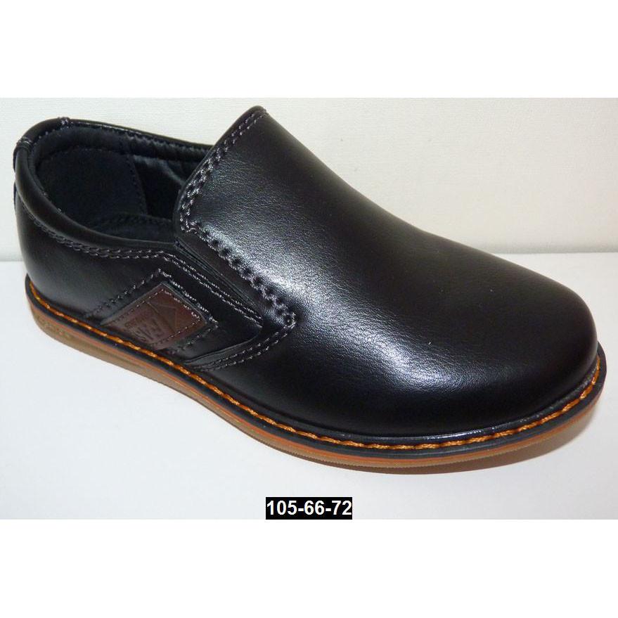 Прошитые туфли для мальчика, 32 размер (20.5 см), супинатор, кожаная стелька
