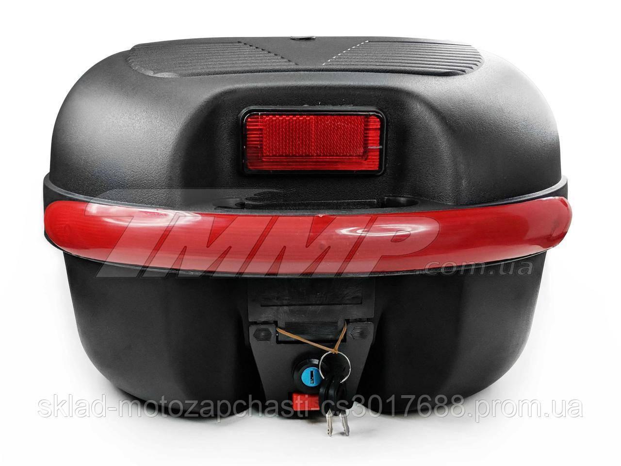 Кофр для скутера мопеда мотоцикла капронову великий (38,5*34*26см) плюс шолом