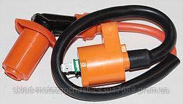 Катушка зажигания усиленная HONDA DIO оранжевая