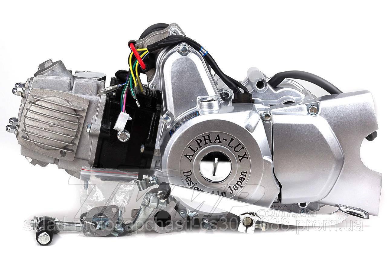 Двигун Альфа / Дельта 110куб напівавтомат d-52.4 мм Alpha Lux