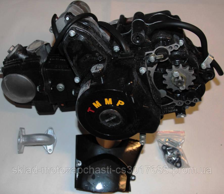 Двигатель 110cc для квадроциклов ( 3 вперёд и 1 передача назад ) полуавтомат