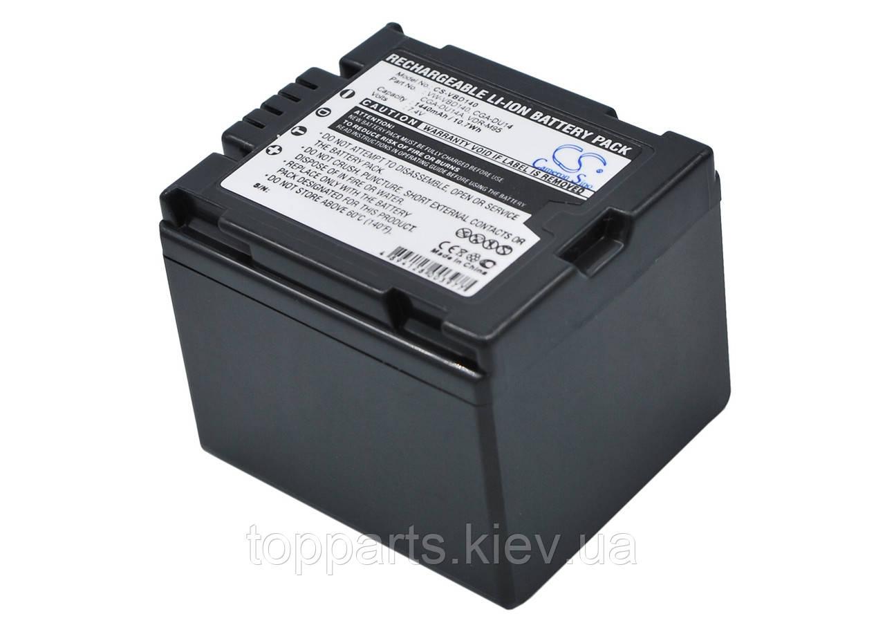 Аккумуляторная батарея CameronSino для фото/видео PANASONIC CGA-DU14,