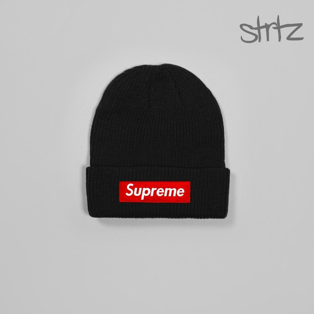Популярная мужская шапка суприм, шапка Supreme