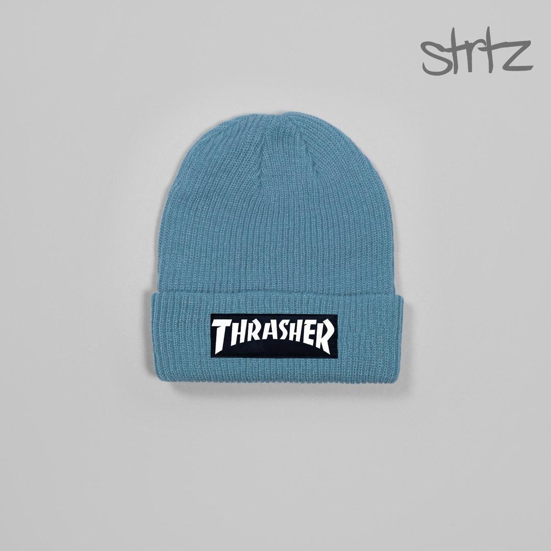 Современная мужская шапка трешер, шапка Thrasher