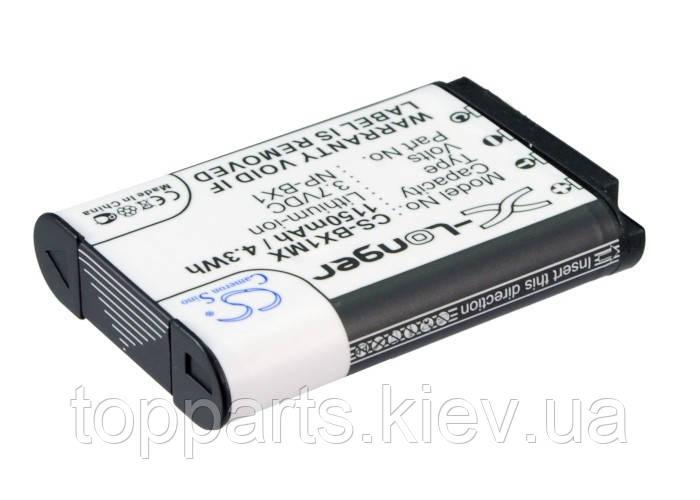 Аккумуляторная батарея CameronSino для фото/видео Sony NP-BX1, 1150mAh