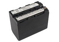 Аккумуляторная батарея CameronSino для фото/видео Sony NP-F960/NP-F970, 6600mAh, Dark Grey