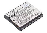 Аккумуляторная батарея CameronSino для фото/видео Sony NP-BG1, NP-FG1, 1000mAh, Black