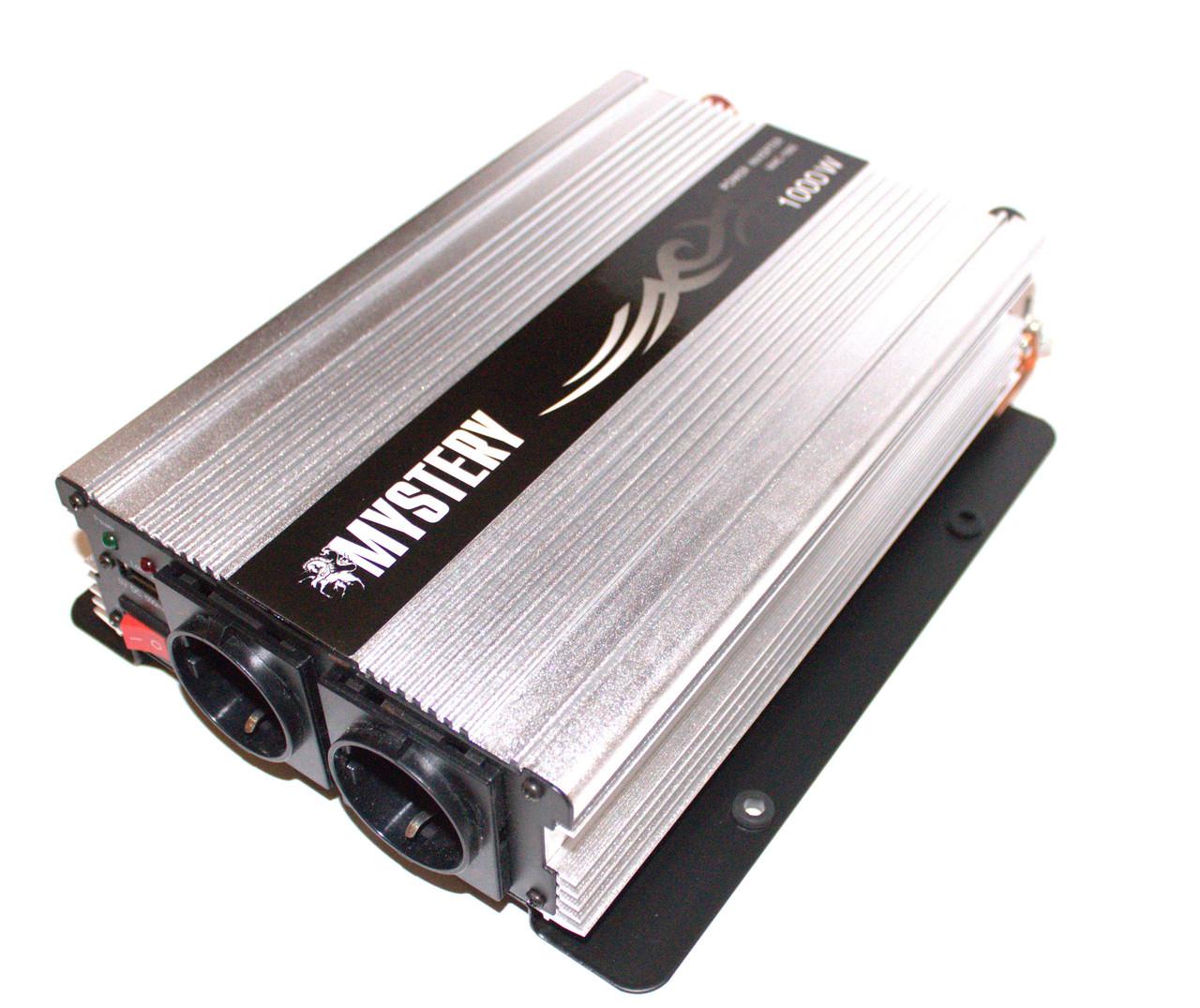 Преобразователь 12-220V 1000W Mystery MAC-1000