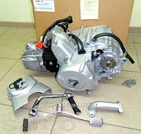 Двигатель в сборе Актив / Альфа / Дельта-110см3 52,4мм  АЛЬФА ЛЮКС полуавтомат