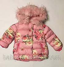 Куртка для дівчаток 104-116 см