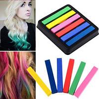 Набор мелки краска для волос 6 штук