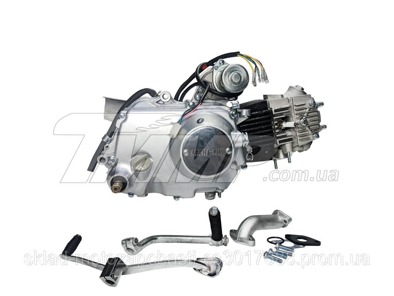 Двигатель Альфа / Дельта-110см3 52,4мм  АЛЬФА ЛЮКС механика