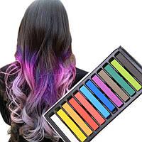Набор мелки краска для волос 12 штук